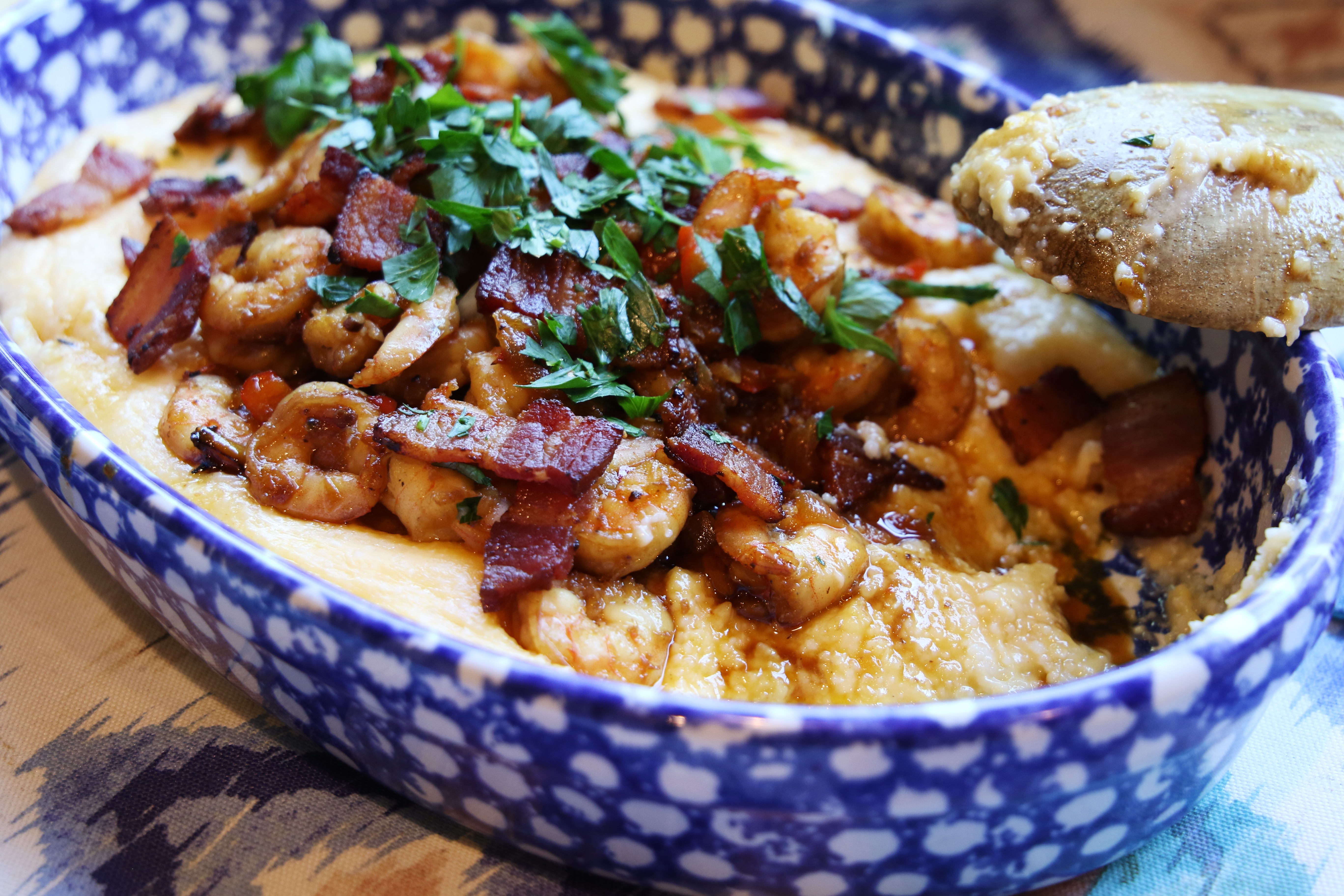 Ayesha Curry shrimp and grits recipe sweet and savory